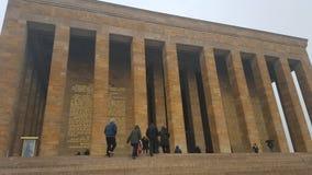 Mausoléu do ` s de Ataturk, lugar histórico de Anıtkabir foto de stock royalty free