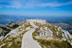 Mausoléu do ` s do ¡ de NjegoÅ em Montenegro Imagem de Stock Royalty Free