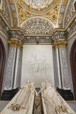 Mausoléu dos amantes de Teruel Herança espanhola Igreja de San Pedro eur fotos de stock royalty free