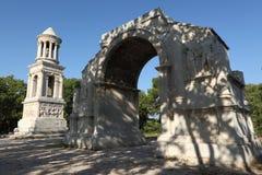 Mausoléu e arco triunfal Imagens de Stock Royalty Free