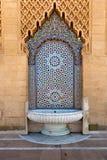 Mausoléu Mohamed V em Rabat, Marrocos Fotos de Stock