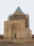 Mausoléu reconstruído de Sultan Tekesh na cidade antiga Kunya-Urgench Imagens de Stock Royalty Free