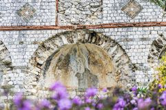 MausolA©ee de Lumone,在盖帽马丁的纪念碑 库存图片