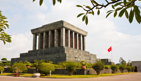Mausolée de Ho Chi Minh Photographie stock libre de droits