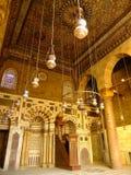 Mausolée de Madrasah et mosquée, complexe de Qalawun, le Caire Images stock