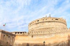 Mausoleet av Hadrian, Rome, Italien arkivbilder