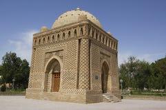 The mausolem of Samanid, bukhara. Uzbekistan Royalty Free Stock Photo