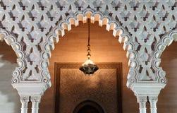 Mausoleo al crepuscolo, Rabat immagini stock libere da diritti