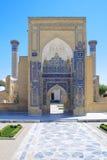 Mausoleo antiguo de Tamerlane en Samarkand Foto de archivo