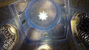 Mausoleo antiguo Gur Emir, una tumba de la familia de Tamerlane Amir Timur y sus sucesores, Samarkand, Uzbekistán, siglo 15 metrajes