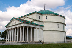 Mausoleo of Bela Rosin. A little Pantheon in Turin - Italy Royalty Free Stock Photography