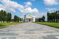 Mausoleo of Bela Rosin. A little Pantheon in Turin - Italy Royalty Free Stock Image