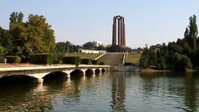Mausoleo a Bucarest Fotografia Stock