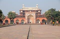 Mausoleo de Akbars, sikandra foto de archivo libre de regalías