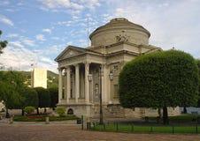 Mausoleo de Alessandro Volta en Como, Italia Imagen de archivo libre de regalías