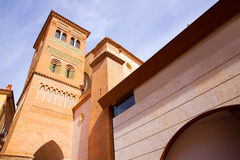Mausoleo de Aragón Teruel Los Amantes en San Pedro Mudejar Fotos de archivo libres de regalías