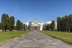 Mausoleo de Bela Rosin, Turin, Italie image libre de droits