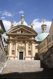 Mausoleo de Franz Ferdinand II y catedral, Graz, Austria Imagen de archivo