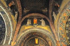 Mausoleo de Galla Placida Imágenes de archivo libres de regalías