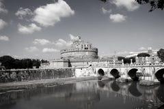 Mausoleo de Hadrian Foto de archivo libre de regalías