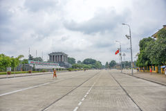 Mausoleo de Ho Chi Minh Imagenes de archivo