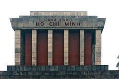 Mausoleo de Ho Chi Minh en Hanoi. Fotografía de archivo libre de regalías