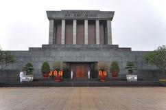 Mausoleo de Ho Chi Minh en Hanoi, Vietnam Imagen de archivo
