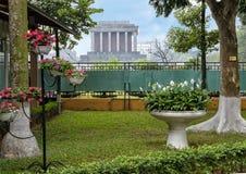 Mausoleo de Ho Chi Minh, Hanoi, Vietnam imagenes de archivo