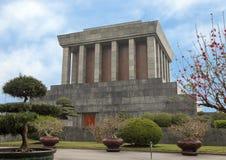 Mausoleo de Ho Chi Minh, Hanoi, Vietnam fotografía de archivo libre de regalías