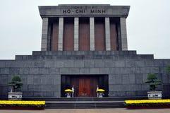Mausoleo de Ho Chi Minh Tomb en Hanoi, Vietnam Imágenes de archivo libres de regalías