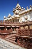 Mausoleo de Jaswant Thada en Jodhpur, Rajasthán Imagen de archivo libre de regalías