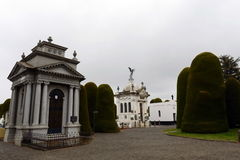 Mausoleo de José Menéndez do municipal Sara Braun do cementerio Fotos de Stock