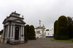 Mausoleo de José Menendez de municipal Sara Braun de cementerio photos stock