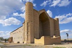 Mausoleo de Khoja Ahmed Yasavi en Turkistan, Kazajistán Imágenes de archivo libres de regalías