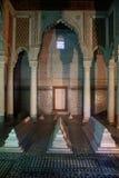 Mausoleo de la tumba de Saadian en Marrakesh, Marruecos Fotografía de archivo