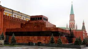 Mausoleo de Lenin imágenes de archivo libres de regalías