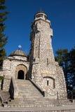 Mausoleo de los héroes en la yegua-Pravăt de Valea Fotos de archivo libres de regalías