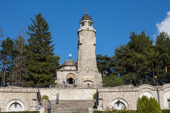 Mausoleo de los héroes en la yegua-Pravat de Valea Foto de archivo libre de regalías