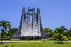 Mausoleo de mármol imponente de Kwame Nkrumah Imágenes de archivo libres de regalías