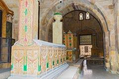 Mausoleo de Mohamed Ali Family Ciudad de muertos Ciudad y río el Nilo de El Cairo Fotografía de archivo libre de regalías