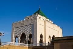 Mausoleo de Mohammed V Fotografía de archivo libre de regalías