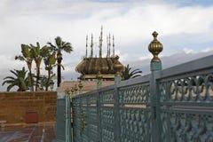 Mausoleo de Mohammed V en Rabat Fotografía de archivo
