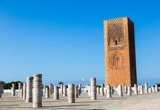 Mausoleo de Mohammed V en Rabat, Marruecos Enumerado en los lugares del patrimonio mundial de la UNESCO Imagenes de archivo