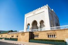 Mausoleo de Mohammed V en Rabat, Marruecos Enumerado en los lugares del patrimonio mundial de la UNESCO Foto de archivo