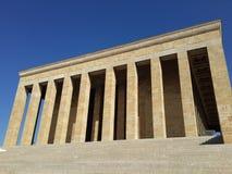 Mausoleo de Mustafa Kemal Ataturk en Ankara Turquía Imagen de archivo libre de regalías
