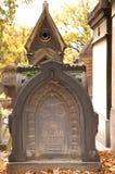 Mausoleo de Pere Lachaise Imágenes de archivo libres de regalías