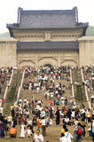 Mausoleo de Sun Yat-sen (Zhongshan Ling) Imagen de archivo libre de regalías