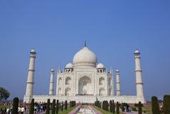 Mausoleo de Taj Mahal en Agra, la India Imágenes de archivo libres de regalías