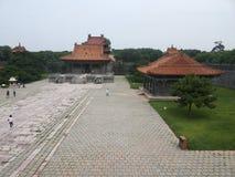 Mausoleo de Zhaoling de Qing Dynasty Fotos de archivo libres de regalías