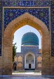 Mausoleo del emir de Gur-e de Tamerlán - Samarkand, Uzbekistán imagen de archivo libre de regalías